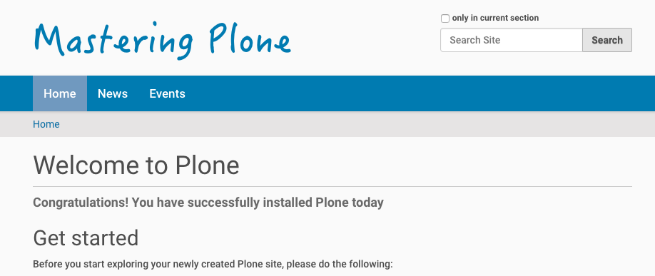 "10  Configuring and Customizing Plone ""Through The Web"" — Plone"